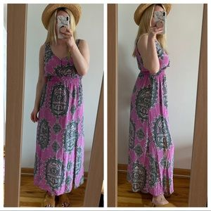 Anthropologie Maeve maxi dress s small